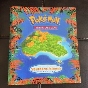 Pokemon Southern Islands Collection Binder 2001